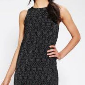 Staring At Stars UO Silky Zipback Shift Dress